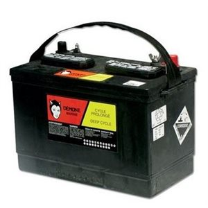 RV27 deep cycle battery 12V 180 RC min.