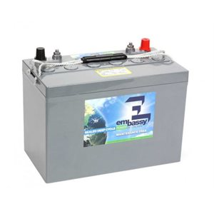 Crown Embassy 12V AGM 110 Ah maintenance free deep cycle battery group 31