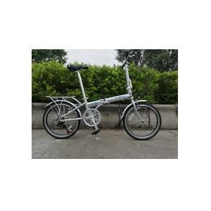 Aluminum folding bicycle 7 speed