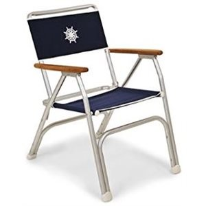 Chair folding low back navy