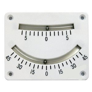 Clinometer 6 deg & 45 deg dual scale