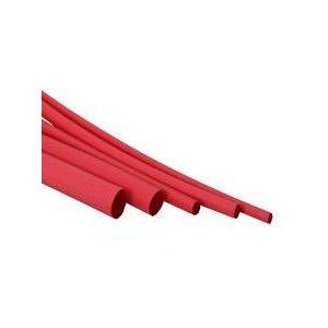 "Heat shrink 48"" x 3 / 4"" red"