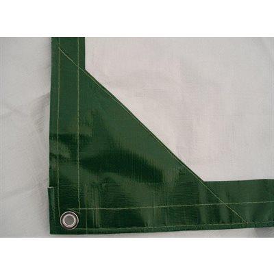 Tarp 16' X 20' green / white