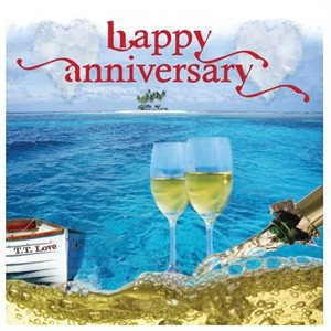 Greeting Card - Happy Anniversary