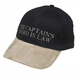 Casquette 'Captains word is law' taille unique