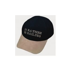 Casquette 'I'd rather be sailing' taille unique