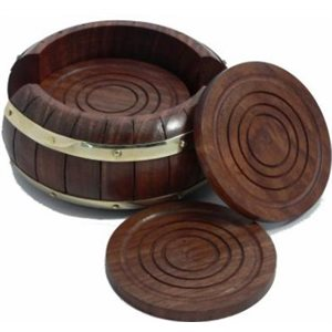 Barrel-style Coasters