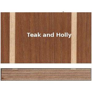 Plywood marine teak & holly 12 mm 4' X 8'