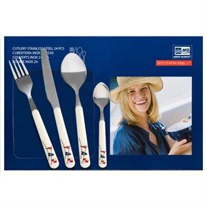 Marine Business Regata 6 Person (24 piece) Cutlery Set