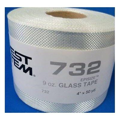 """Fiberglass cloth 9 oz x 4"""" / yard"""