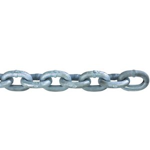 "Chain 3 / 8"" high test grade 43 for windlass / foot"