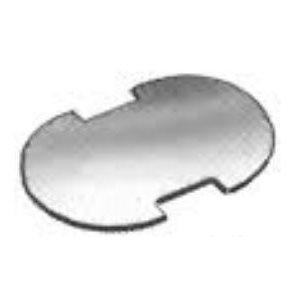 Turnbutton fastener 2 prong backing plate