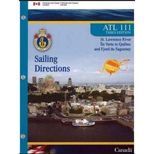 Instructions nautiques Ile Verte à Québec (french)