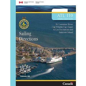 Instructions nautiques Cap Gaspe-Ile D'Anticosti (en francais)