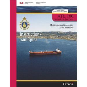 Instructions nautique: renseignements généraux, côte atlantique