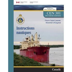 Instructions nautique Montreal à Kingston