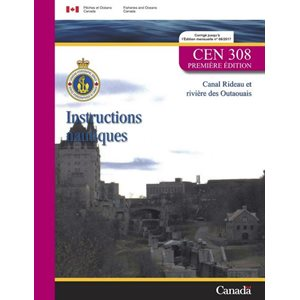 Instructions nautiques Rideau et Outaouais (french)
