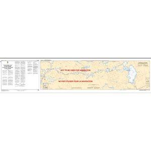 Carte 2029 - De l'écluse de Couchiching à Port Severn