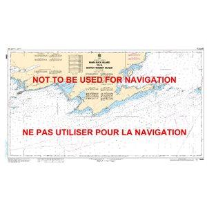 Carte 2060 Main Duck Island à Scotch Bonnet Island