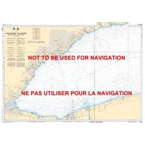 Carte 2077 Lac Ontario Partie Ouest