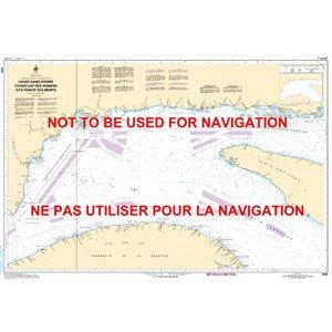 Carte 4026 Havre Saint-Pierre et Cap des Rosiers à Pointe des Monts