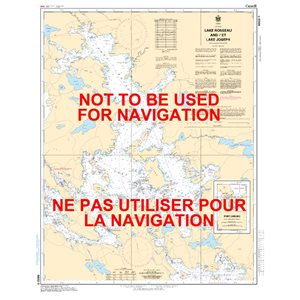 Carte 6022 Lake Rosseau et Lake Joseph