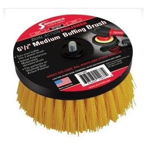 Buffing brush medium yellow