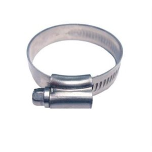 """Hose clamp 3 / 8"""" -1 / 2"""" stainless"""