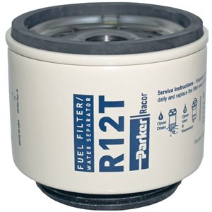R12T 10 micron fuel filter element