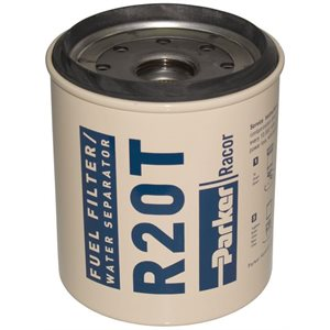 Fuel filter R20T spin-on 10 micron