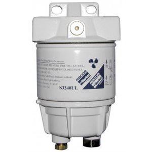 Filtre à essence (10 Micron / bol en métal ) Racor 120R-RAC-02