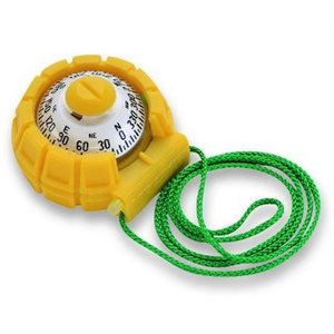Sportabout handheld compass yellow