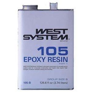 West system 105-B résine d'époxy 3,74 L
