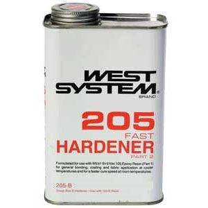 Durcisseur 205 rapide West System 814 ml