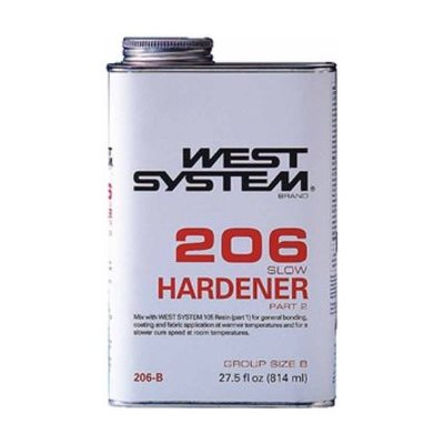 West system 206 slow hardener 814 ml