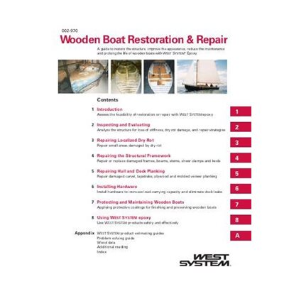 West System wooden boat repair