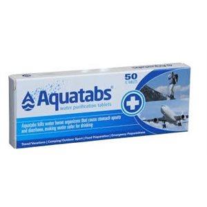Aquatabs comprimés de purification d'eau 50 comprimés