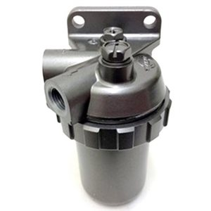 Fuel strainer assembly