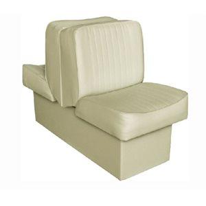 """Siège de luxe Lounge beige 14-1 / 4 """"P x 17-1 / 2"""" L x 28 """"H 45-1 / 2"""""""