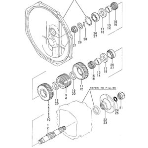 Bague interne 2GM piece # 14 dans le diagramme