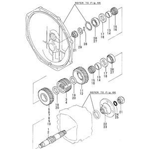 Collar thrust 2GM part #20 in diagram