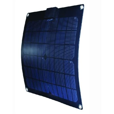 "Semi-Flex monocrystalline solar panel 15w 14.65"" x 14.65"" x 0.07"""