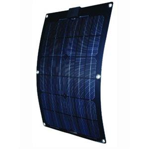 """Panneau solaire monocristallin semi-flexible 25w 11.13"""" x 22.2"""" x 0.07"""""""