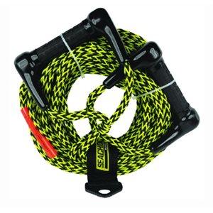 Corde de ski nautique à double poignée 75 'TS 1600 lbs.