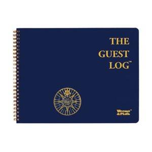 Weems & Plath Log books: guest log