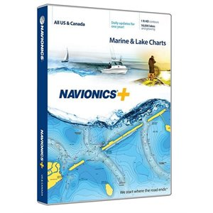 Navionics Plus Canada, USA and Bahamas on CF