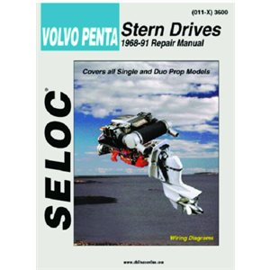 Seloc repair manual for Volvo Penta Stern Drive 1968-1991