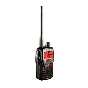 Compact waterproof marine handheld VHF radio 3w (Black)