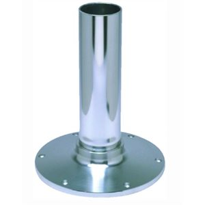 """EEz-in fixed height 2.875"""" seat base, smooth stanchion, satin anodized finish 12"""""""