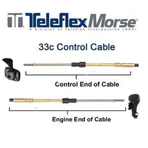 Câble de commande Teleflex 33c 30 '